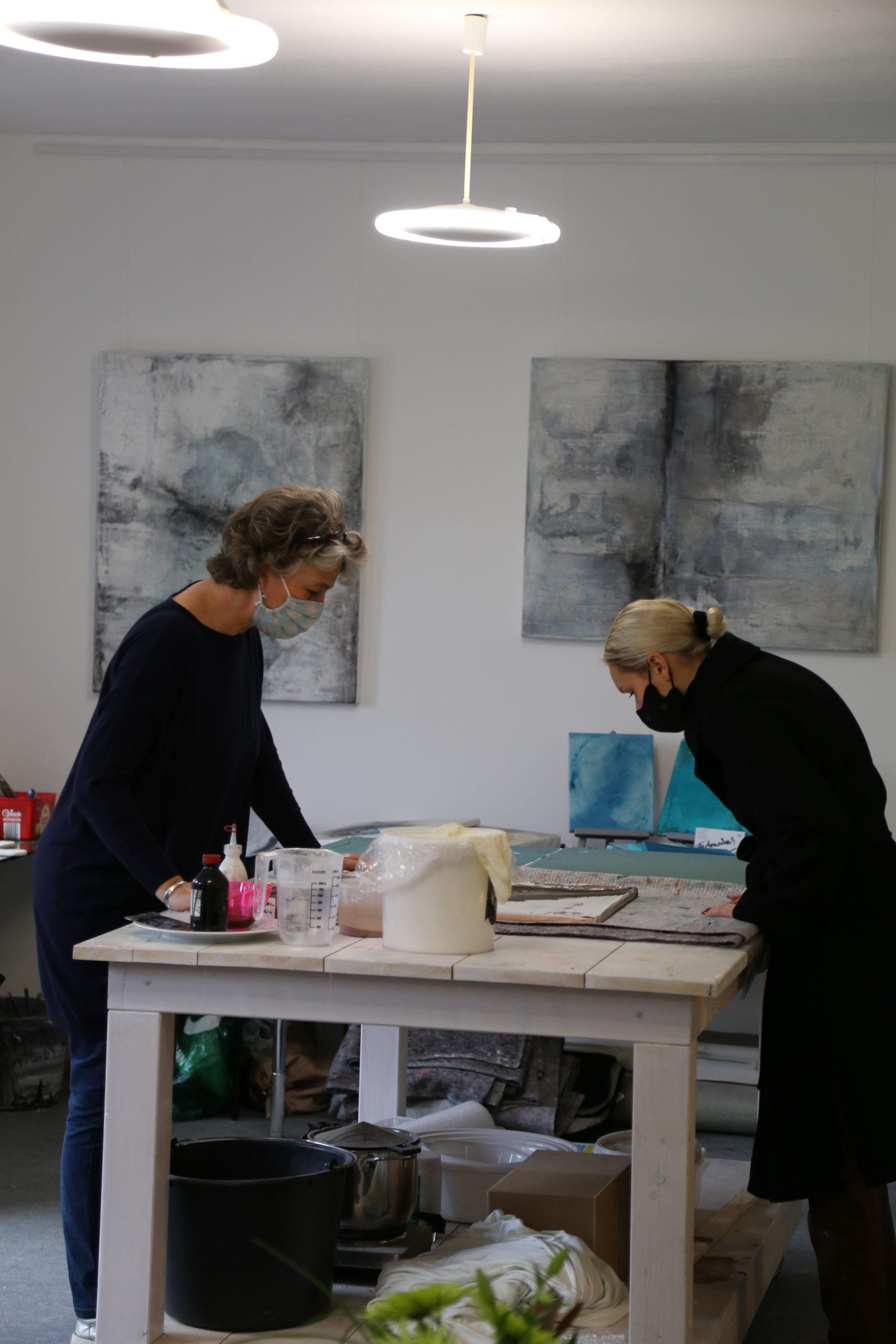 Petra Lettermann Malkurs Atelier