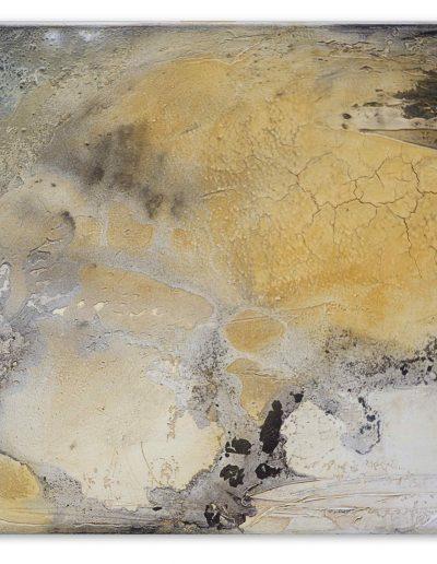 Petra Lettermann Fluß von Weiß und Gelb